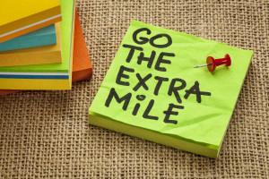 extra mile
